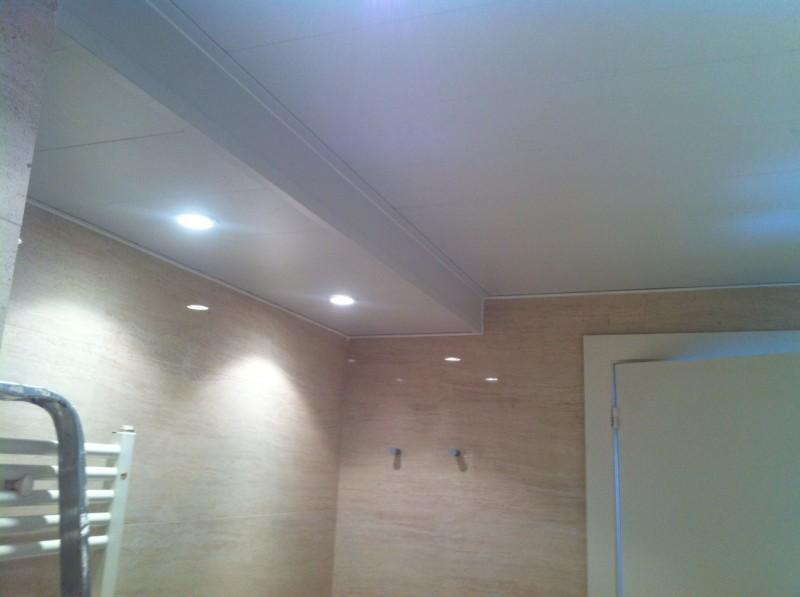 K rpintal ventanas y puertas de aluminio techos y - Luces empotradas en el techo ...